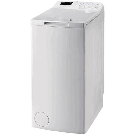 Cea mai bună mașină de spălat rufe în general, cu încărcare verticală - INDESIT BTW D71253