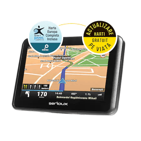 Cel mai bun GPS AUTO pentru întrebuințări la nivel local