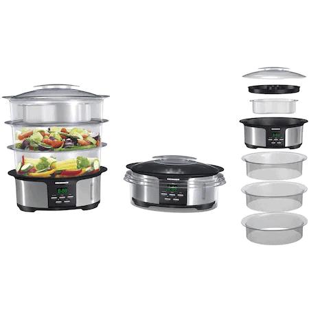 Cel mai bun aparat de gătit cu aburi pentru familii