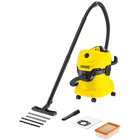 Cel mai ușor de curățat aspirator cu spălare: Aspiratorul Karcher WD 4