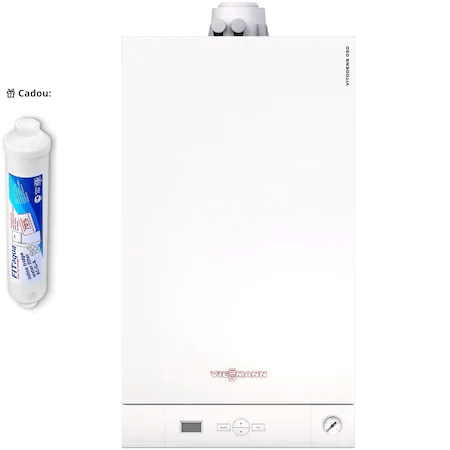 Centrale Termice de Apartament-Cel mai avantajos pachet: Centrala termică Viessmann Vitodens 050-W plus filtrul Fitaqua AWF-WSM.