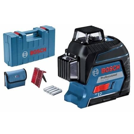 CEA MAI BUNĂ NIVELĂ ÎN GENERAL, CU PATRU BATERII (AA): Nivela laser cu linii Bosch Professional GLL 3-80