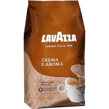 Cea mai bună cafea pentru latte şi cappucino: Cafea Boabe Lavazza Crema e Aroma