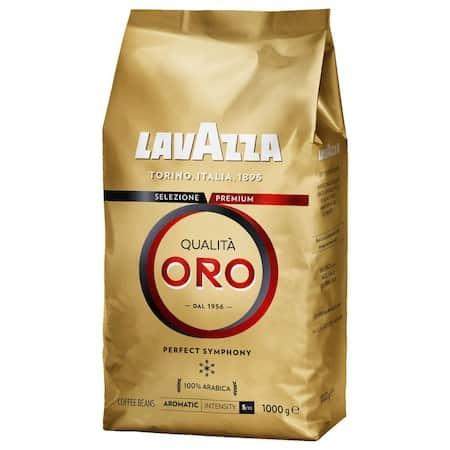 Cea mai bună cafea cu aromă echilibrată: Cafea boabe Lavazza Qualita Oro, 1Kg