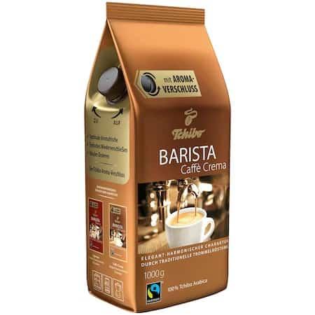 Cea mai bună cafea cu sistem de închidere special: Cafea boabe Tchibo Barista Caffe Crema