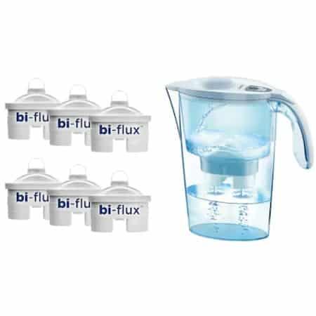 Cea mai bună cană de filtrare apă în general: Laica Stream White