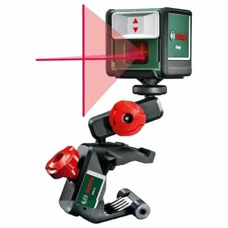 Cea mai bună nivela laser pentru planeitare: Bosch Quigo III