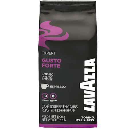Cea mai intensă cafea boabe cu note finale de cacao - Cafea Boabe Lavazza Gusto Forte