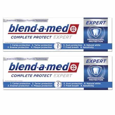 Cea mai bună pastă de dinți care ofera o bună sănătate orală și dinți puternici: Blend-a-Med Complete Protect Expert