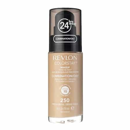 Cel mai bun fond de ten: Fond de ten Revlon ColorStay Combination/Oily SPF 15 250 Fresh Beige